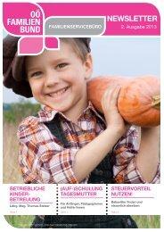 Newsletter_Ausgabe_2-2013 - OÖ Familienbund