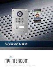 Katalog 2013 / 2014 - myintercom.de
