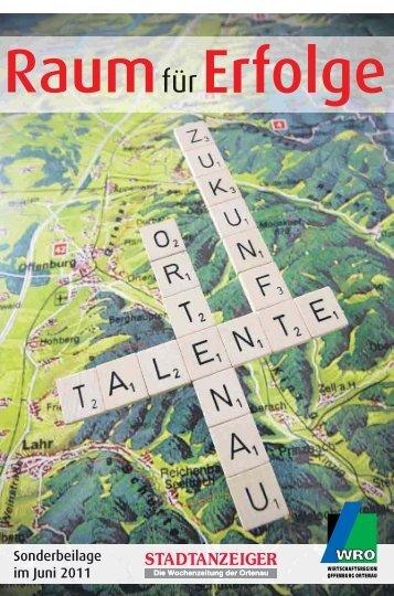 Sonderbeilage im Juni 2011 - Stadtanzeiger-Ortenau