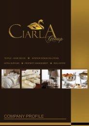 COMPANY PROFILE - Ciarla Group