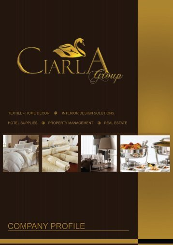 COMPANY PROFILE - Ciarla Group