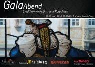GalaAbend - Stadtharmonie Eintracht Rorschach