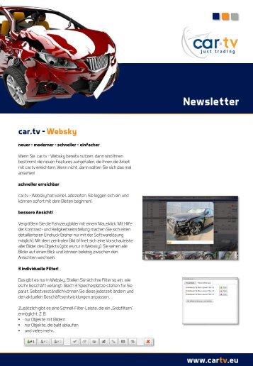 Newsletter - Car.tv