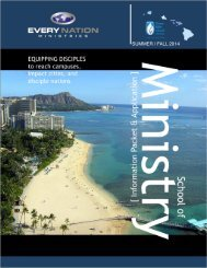 Download the SOM Hawaii Brochure and Info Packet ... - Every Nation