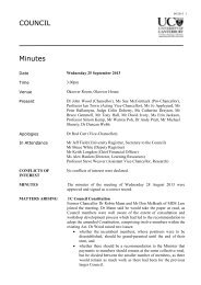 Minutes - University of Canterbury