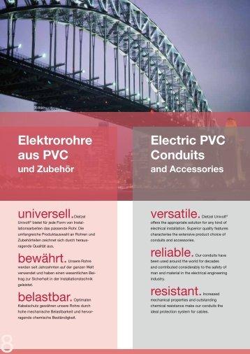 General Catalogue: 2. Conduits from PVC - Dietzel Univolt