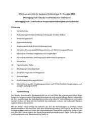 Offenlegungsbericht der Sparkasse Muldental zum 31. Dezember ...