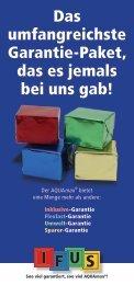 IFUS Garantie - ATB Umwelttechnologien GmbH