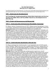 Protokoll vom 07.August 2013 - Nußloch