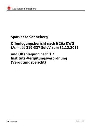 Anwendungsbereich (§ 323 SolvV) - Sparkasse Sonneberg