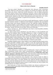 İslam'a Göre Dost ve Düşman / Şeyh Alaaddin Palevi