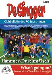 Gingger 3/2013 - FC Engstringen