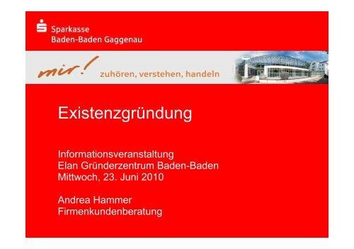 Spk Baden Baden Gaggenau Online