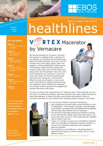 Macerator by Vernacare - EBOS Online