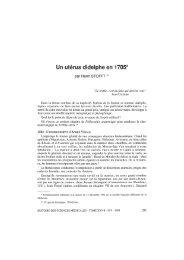 Un utérus didelphe en 1705* - Bibliothèque interuniversitaire de ...