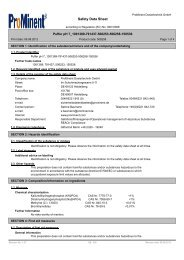 Safety Data Sheet - ProMinent