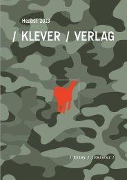 / KLEVER / VERLAG