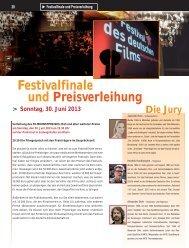 Festivalfinale und Preisverleihung - Festival des deutschen Films