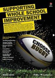 RFU Offer Document - Bradford Secondary Schools Sports Association