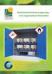 Organische Peroxide - Lacont Umwelttechnik GmbH