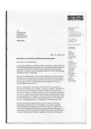 ROG-Brief an Bundeskanzlerin Angela Merkel zum Besuch des ...
