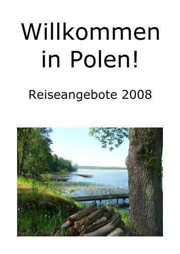 Reiseangebote 2008 - Welcome2Poland.com