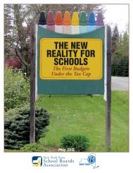 Full Report - New York State School Boards Association