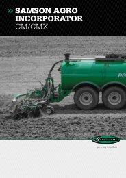 SAMSON AGRO INCORPORATOR CM/CMX