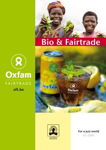 Bio & Fairtrade - Oxfam Fairtrade
