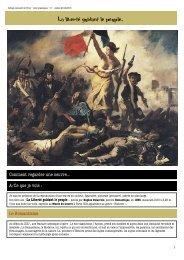 Collège Léonard de Vinci –la liberté guidant le peuple- Arts ...