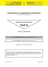 Tarif A (10412 kB, PDF) - Steuern St. Gallen