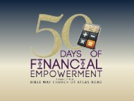 50 Days Financial Empowerment Guide by on (July 25, 2013)