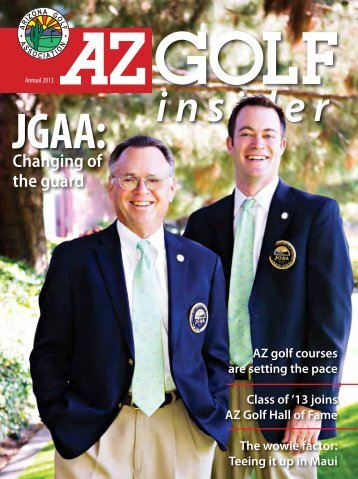 Changing of the guard - Arizona Golf Association