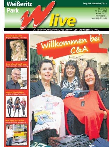 Ausgabe 09/2013 - Weißeritz Park