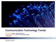 Communications, media and technology trends to watch for ... - Marsh