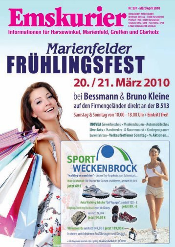Marienfelder Frühlingsfest 20. & 21. März 2010 - Emskurier ...