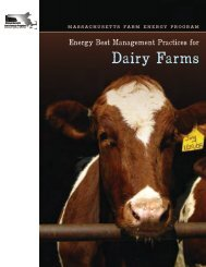 Best Practices for Dairy Farms - Berkshire-Pioneer RC&D
