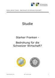 Auswertung Umfrage Starker Franken - handelskammer schweiz ...