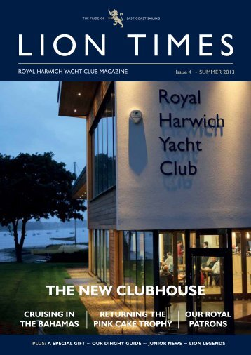 THE NEw CLUBHoUSE - Royal Harwich Yacht Club