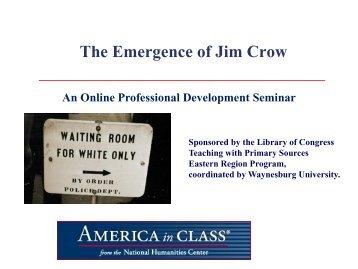 jim crow paper
