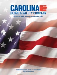 American Made, Family Owned Since 1946. - Carolina Glove ...