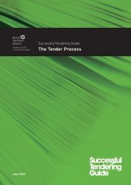 Tendering Guide - The Tender Process (PDF)