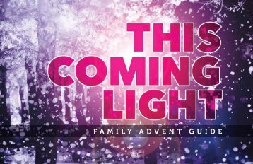 FAMILY ADVENT GUIDE - Ridge Point Community Church