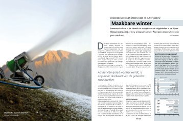 Maakbare winter - René Schils