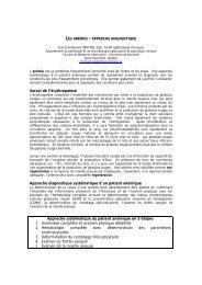 tableau… - Académie de médecine vétérinaire du Québec (AMVQ)