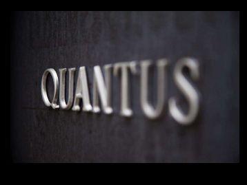 Download our events pack - Quantus-london.com