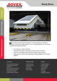 please download PDF file here - Sovex Systems