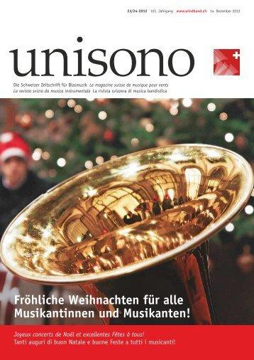 Fröhliche Weihnachten für alle Musikantinnen und Musikanten!