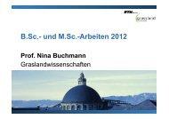 B.Sc.- und M.Sc.-Arbeiten 2012 - ETH Zürich