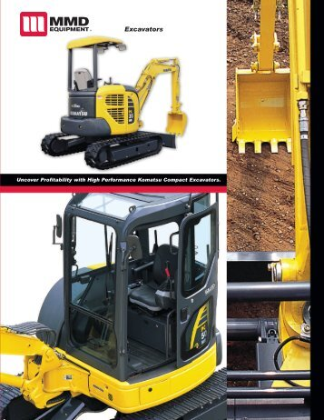 Excavators - MMD Equipment